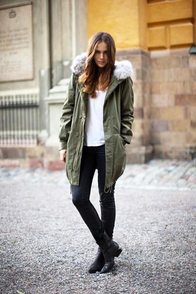 冬季想要温暖不臃肿? 那你必须有一件派克大衣