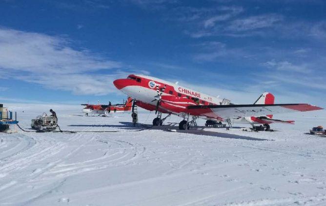 中国客机首降南极 一次费用60万元左右