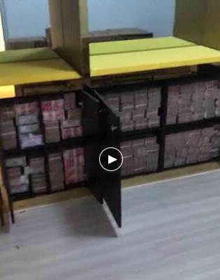 辽宁一居民楼现2亿钞票 为警方办理传销案时搜出