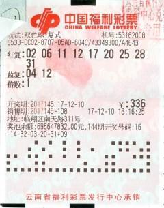 投票选号 18位彩民合买中809万