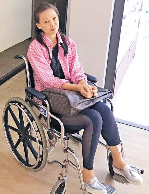 48岁女星发生坠海意外 靠轮椅代步