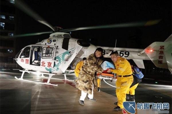 82岁男性呼吸衰竭乘999急救中心私人直升机接受紧急抢救