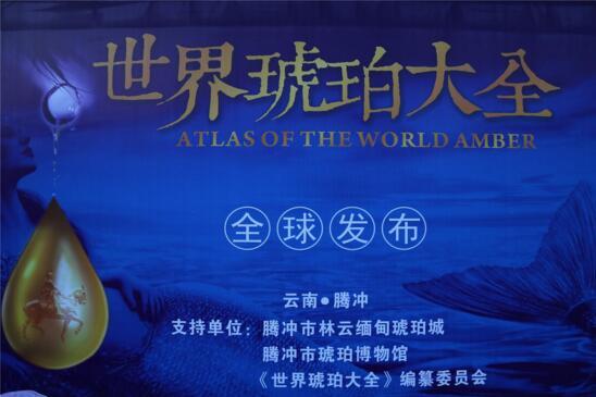 《世界琥珀大全》发布仪式在腾冲林云琥珀城隆重举行