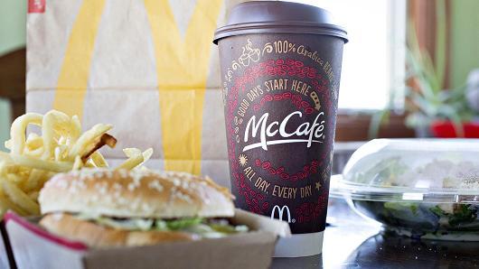 麦当劳发布新菜单 或会引发一场新快餐价格战
