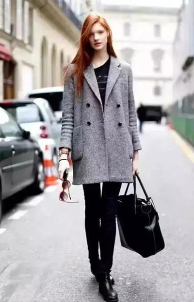 街拍达人冬季怎么穿? 三款颜色让你轻松美上天