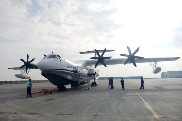 水陆两栖国产飞机AG600计划于2017年12月24日首飞