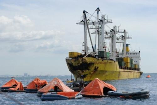 菲律宾载有251人渡轮沉没 240人被救4人死亡7人失踪