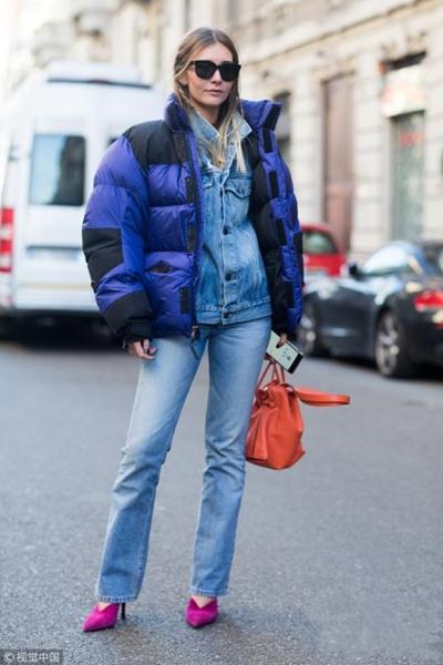 欧美穿衣搭配技巧示范 3款羽绒服让你时髦美美过冬季