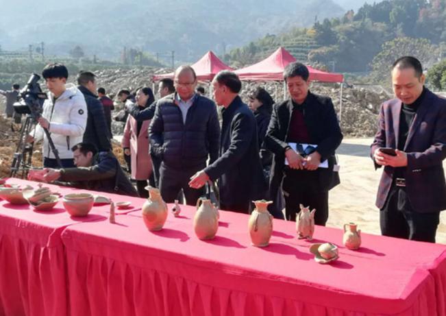 永嘉昨日举行唐代瓯窑遗址考古成果发布会