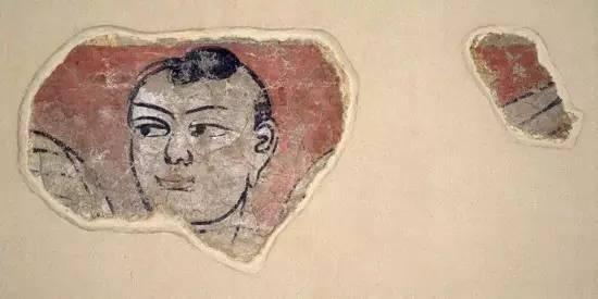 出于中国新疆维吾尔自治区 第三世纪 日本东京国立博物馆藏
