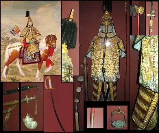 乾隆皇帝甲胄 法国军事博物馆藏