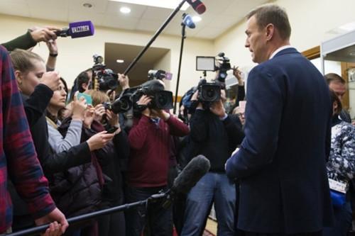 普京最大政敌 选举会被禁止其参加总统选举