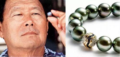 """控制全球85%黑珍珠 当之无愧的""""大溪地珍珠之王"""":温惠仁"""