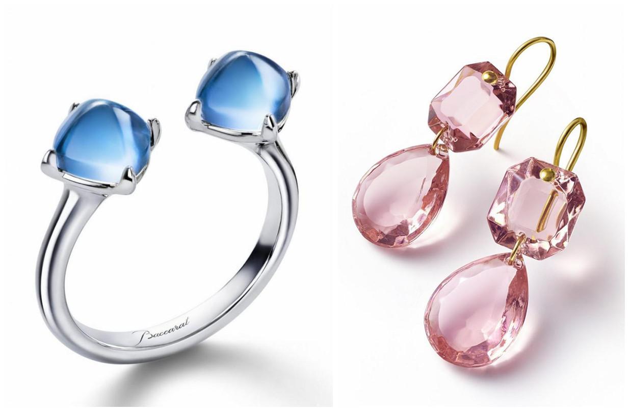 珠宝商Baccarat全新水晶珠宝系列:水晶吊灯&缤纷糖果大放送