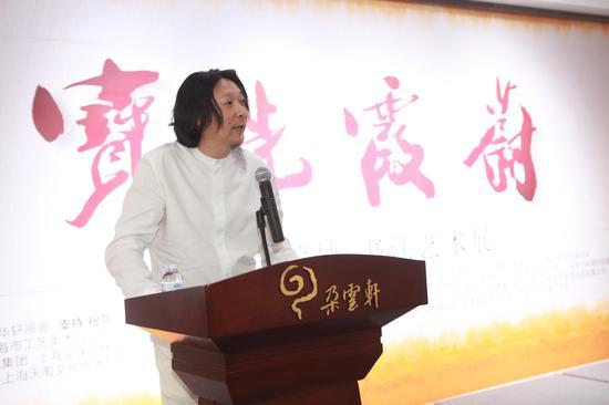 """""""宝光霞蔚""""书法艺术展开幕 展出近80幅书法作品"""