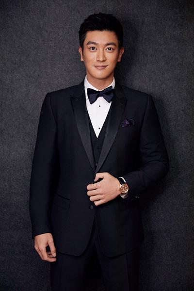 杜江佩戴GP芝柏表亮相第九届澳门国际电影节