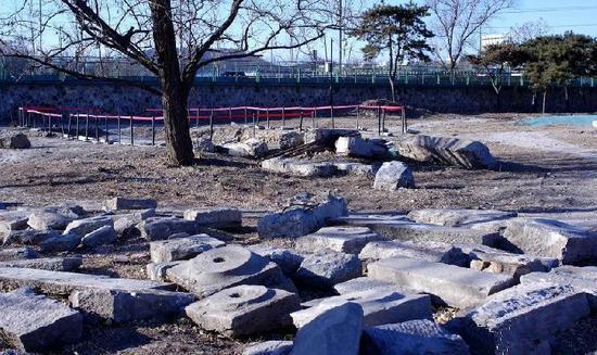 紫碧山房遗址考古发掘首次发现半圆形码头