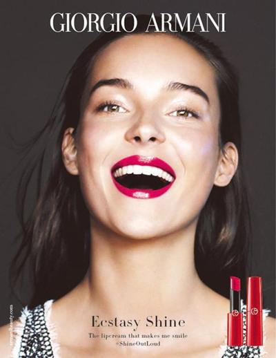 阿玛尼推出全新「小细管」红唇膏 打造出闪耀奢华体验