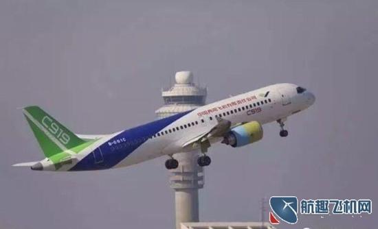 国产飞机C919于上海机场试飞 航班放行正常率创历史新高