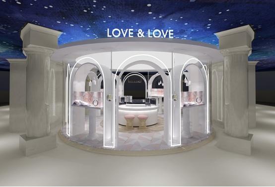 钻戒新典范LOVE&LOVE首家星空概念店浪漫启幕 陪你梦幻跨年