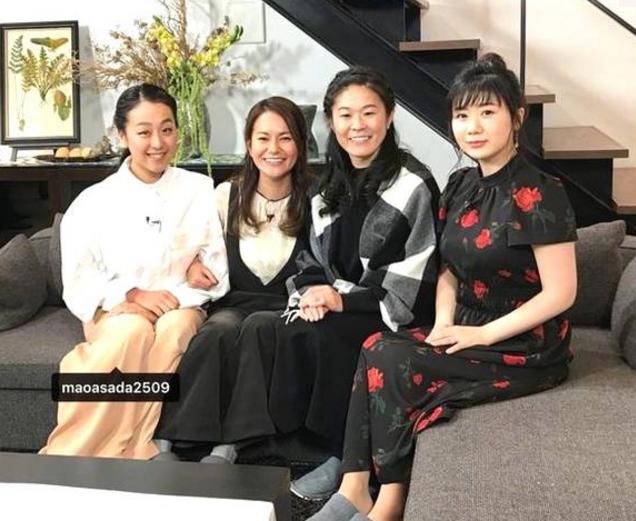 日本体坛四大女神合影 你觉得谁颜值最高?
