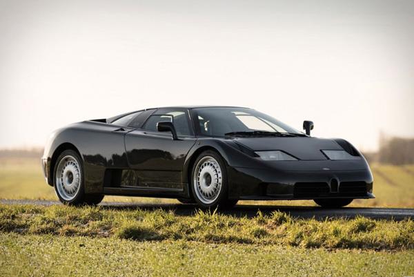 布加迪高性能臻品EB110 GT即将拍卖 评估价值75~95万美金