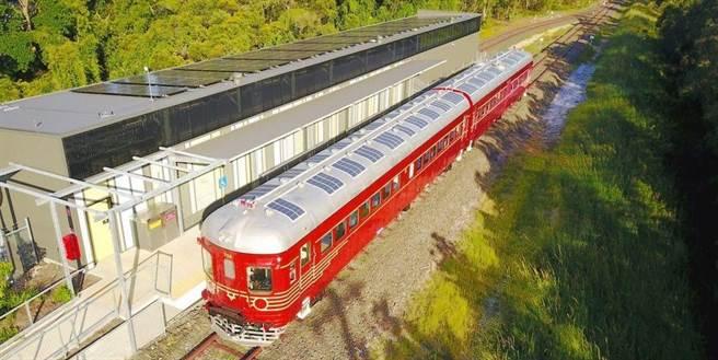 澳大利亚太阳能列车推出 实现太阳能动力用于运输领域