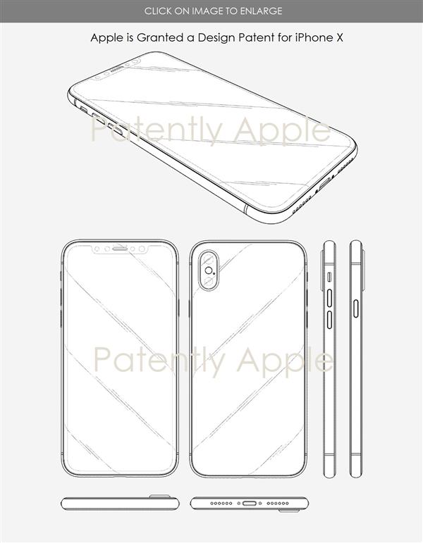 苹果拿下刘海屏专利 别的手机再用就是侵权!