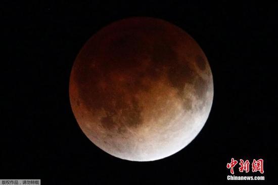 1月末现血色满月 最近一次观测是在150年前