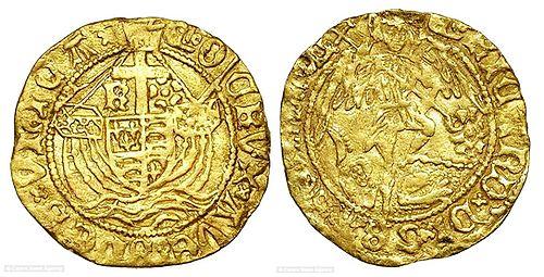厉害了!女子在在寻宝时挖到一枚15世纪的金币价值不菲