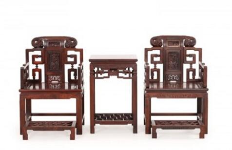 红木家具价格_大红酸枝(交趾黄檀)狮头太师椅价格多少?