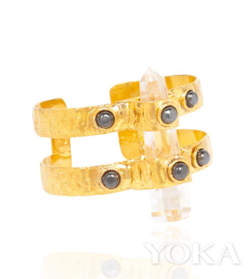 石英珠宝护身符 二氧化硅结晶后的完美产物