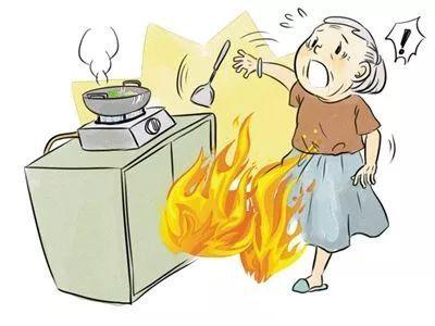 羽絨服突然爆炸是咋回事 煤氣泄漏無需明火也會爆炸!