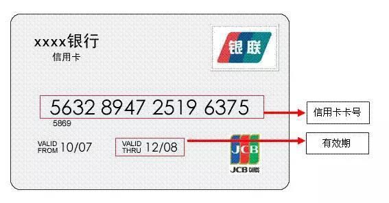 信用卡的有效期怎么看?
