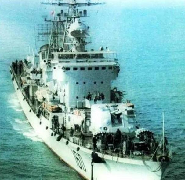 中国海军四大悲惨事故之首:78年广州号驱逐舰爆炸事故