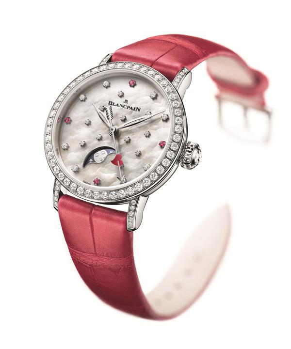 Blancpain(宝珀)推出甜蜜热烈的女士腕表 为迎接2018情人节