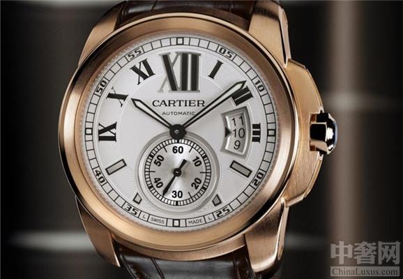 卡地亚(Rotonde de Cartier)系列昼夜显示腕表 成为最受欢迎的腕表之一