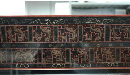 成都历时近17年修复年代最早漆床 距今约有2500年