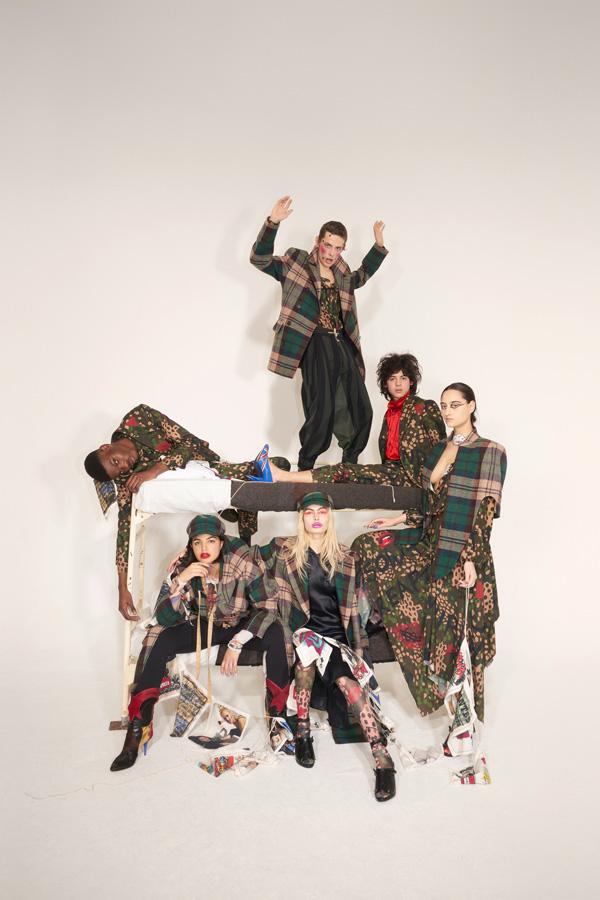 Vivienne Westwood(维维安·韦斯特伍德)推出2018秋冬男女装系列