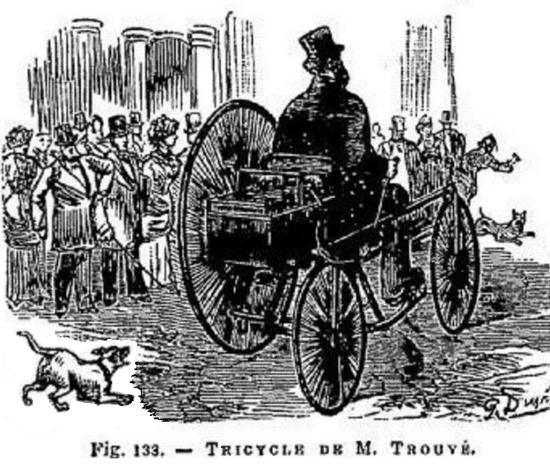 你知道一百多年前的电助力车长啥样吗