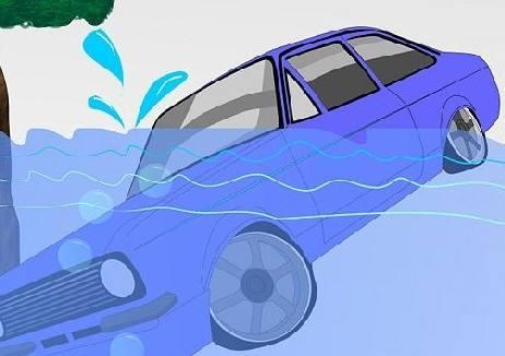开车落水快实施这些措施