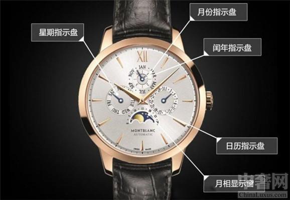 万宝龙典藏系列腕表 具备快调功能准确性非常高