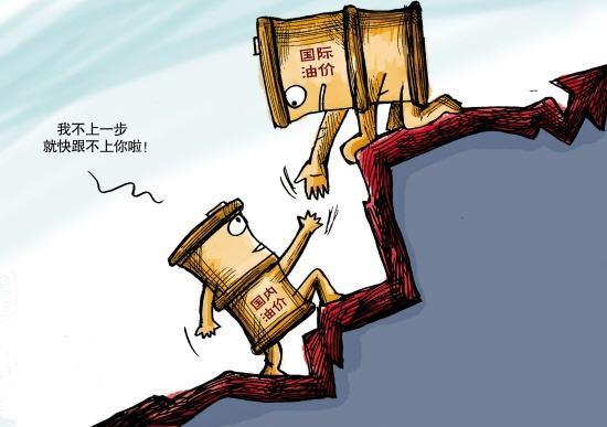 国际油价推动国内原油变化率上升 油价又要涨一轮!