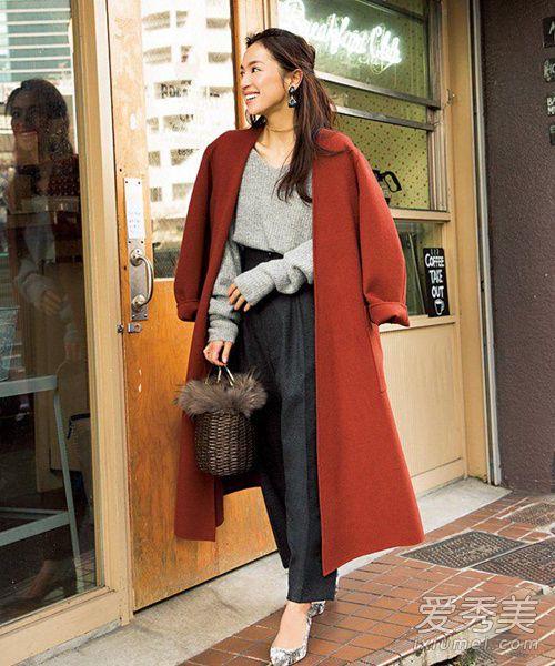 日系名媛都在穿 气质又吸睛的保暖穿搭温度再降10°也不怕!