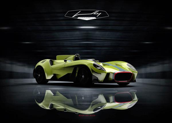 Jannarelly发布跑车Design-X1车型的官方图片 保留了Design-1经典的造型设计