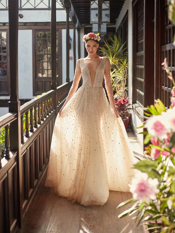 Galia Lahav推出最新2018秋冬系列高定婚纱广告大片