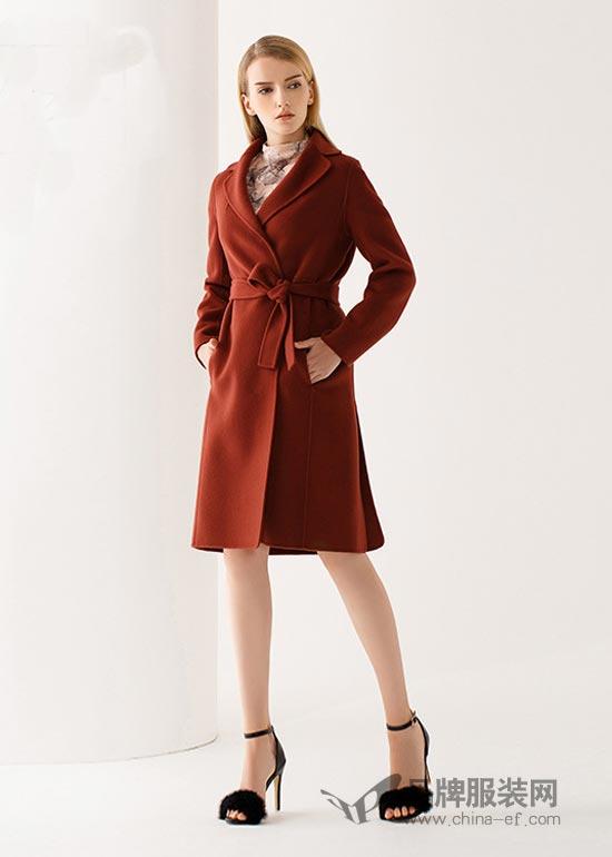 M.HITI(锡瑅)品牌呢大衣 最时尚的款最流行的范