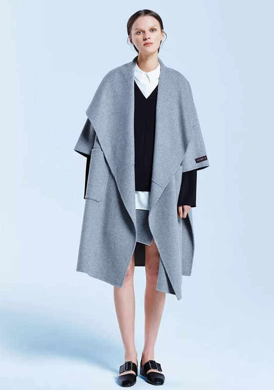 leserbie(奕色)双面呢大衣 冬季不可或缺的时髦单品
