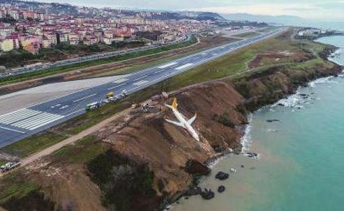 """土耳其客机险些""""溺水"""" 事故原因尚不清楚"""
