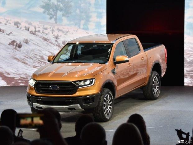 福特新款Ranger正式发布 将在2018年年内引入国内市场销售